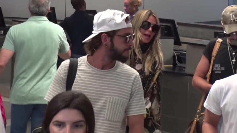 Heidi Klum And Boyfriend Tom Kaulitz Show PDA, Asked About Engagement Upon Arrival In L.A