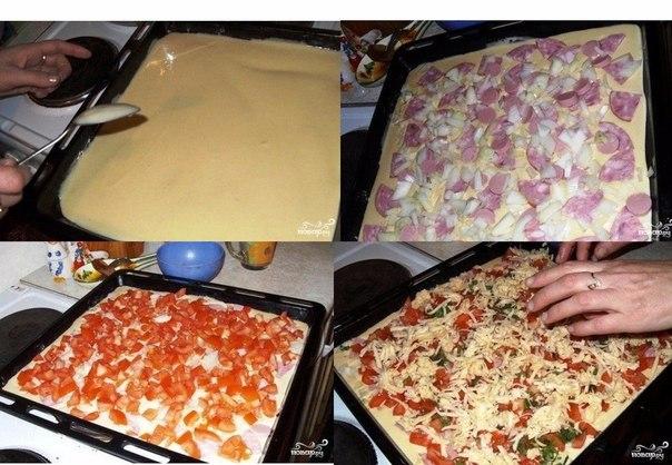 Быстрая пицца - рецепт для тех, кто любит пиццу, но ленится ее готовить по всем правилам итальянской кухни. Упрощаем рецепт до безобразия, но получаем все равно очень вкусную и аппетитную пиццу.