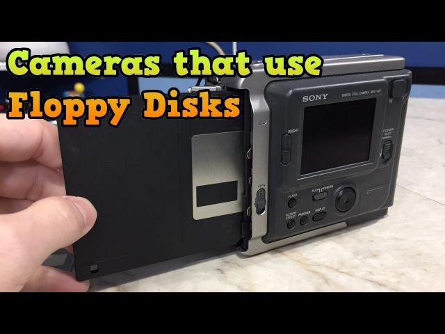 Когда камеры работали на дискетах...