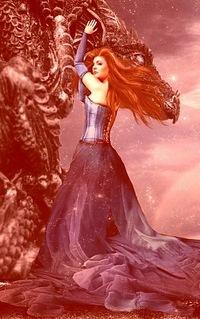 принцесса и дракон картинки