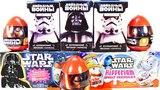 ЗВЕЗДНЫЕ ВОЙНЫ Mix! СЮРПРИЗЫ игрушки джедаи фильм Star Wars! Sweet Box, Kinder Surprise unboxing