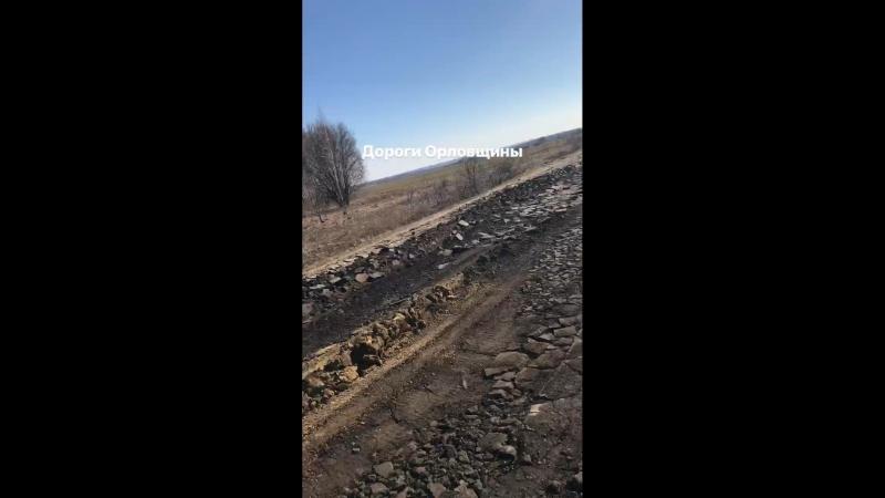 Дороги Орловщины