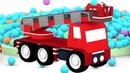 4 машинки - Песенки для детей - Пожарная, скорая, полицейская машинки