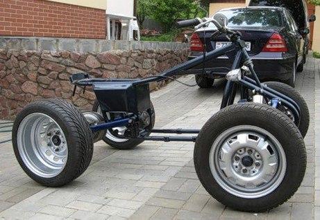 самодельный, квадроцикл, как сделать
