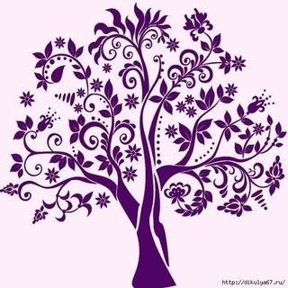 трафареты цветов для декора своими руками шаблоны