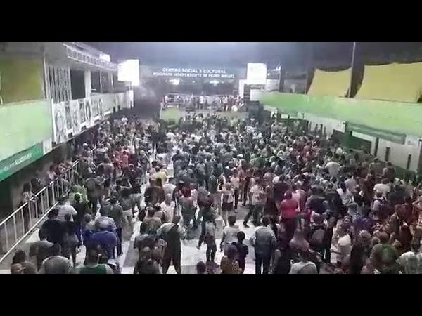 Ensaio de canto do samba 2019 da Mocidade Independente