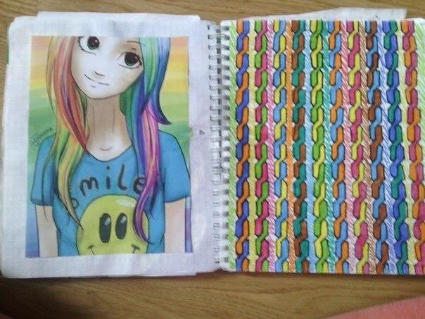рисунки для лд для девочек 12 лет