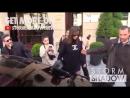 Белла и Джиджи покидают отель «Royal Monceau» и офис бренда «Chanel», Париж (02.05.18)