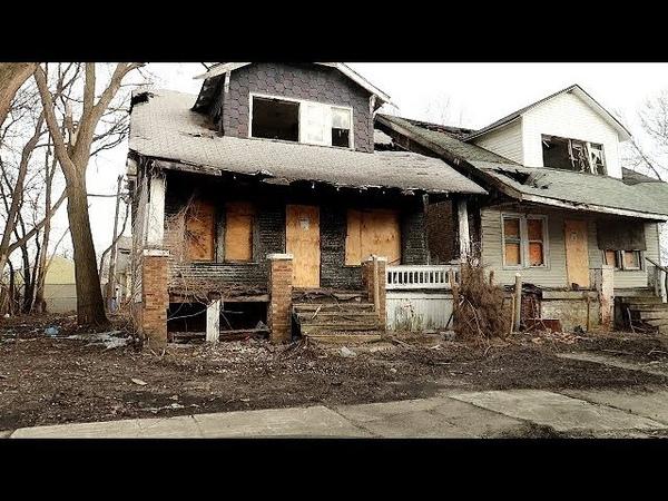 Детройт (Мичиган, США), разруха гетто реп, часть 1