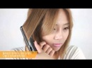 How to Curl Medium Hair (A-line Bob) With a Flat Iron - 긴단발머리 고데기 하는법