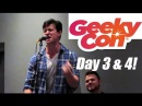 GEEKYCON DAY 3 4 ft Anthony Rapp Jacqueline Emerson Maxwell Glick and more