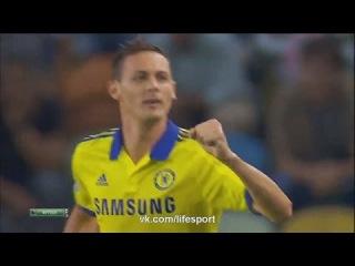 Nemanja Matic Goal ~ Sporting vs Chelsea 1:0 UEFA Champions League 2014 30/09/2014