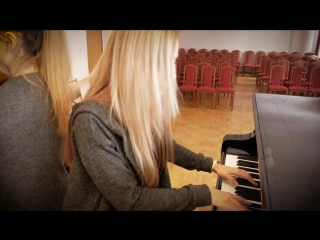 Ленинград - Мне бы в небо (скрипка + пианино кавер)