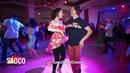 Aleksandra Kuznetsova and Igor Kim Salsa Dancing in Lendvorets at The Third Front, Fri 03.08.2018