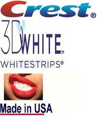 Отбеливающие полоски для зубов crest 3d