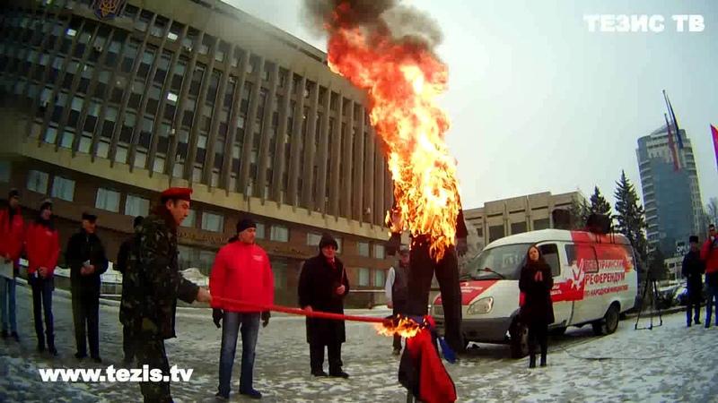 Ватники злятся, что их никто не бьет 9 мая за георгиевскую ленту. Киев