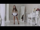 Model Rebecca dress presentation agency Brima.d