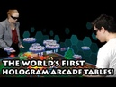 Euclideon unveils the world's first Hologram Arcade Tables!