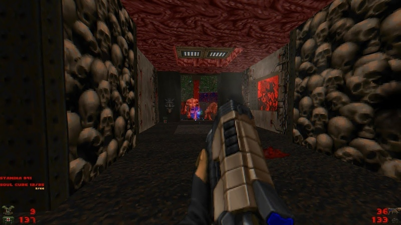 2002 A Doom Odyssey | E2M5: Fortress of Fatalities [Brutal Doom: Black Edition v3.1d] » Freewka.com - Смотреть онлайн в хорощем качестве