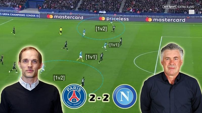 Can Tuchel Resolve PSG's Defensive Issues? PSG vs Napoli 2-2 | Tactical Analysis » Freewka.com - Смотреть онлайн в хорощем качестве