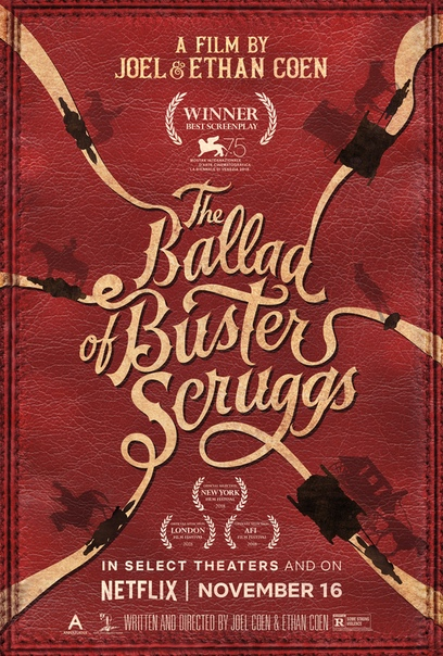 Трейлер фильма «Баллада Бастера Скраггса»