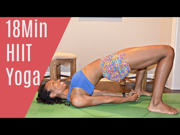18MIN: HIIT YOGA for Mobility and Strength! (ALL LEVELS)