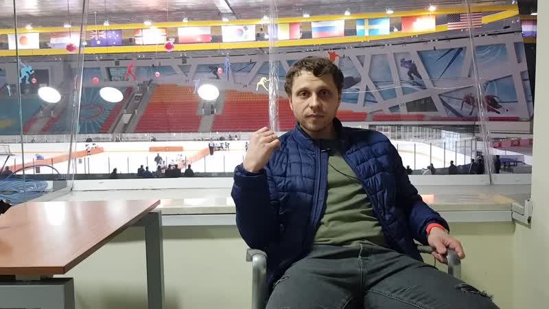Владимир Матюхин о формате Cross Ice