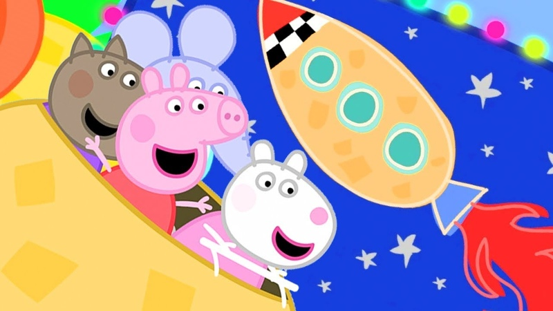 Peppa Pig English Episodes | Peppa Pig and George Pig's Day Out | Peppa Pig Official