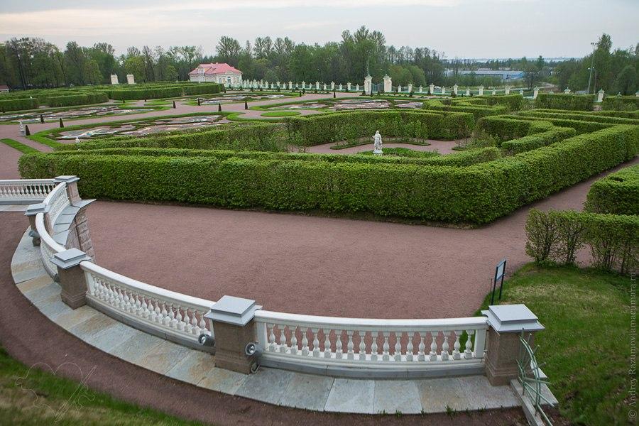 Ораниенбаум Ломоносов парк дворец