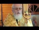 Освящение часовни в Борисовском