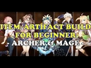 Epic Seven Item Artifact Guide for Beginner ARCHER and MAGE
