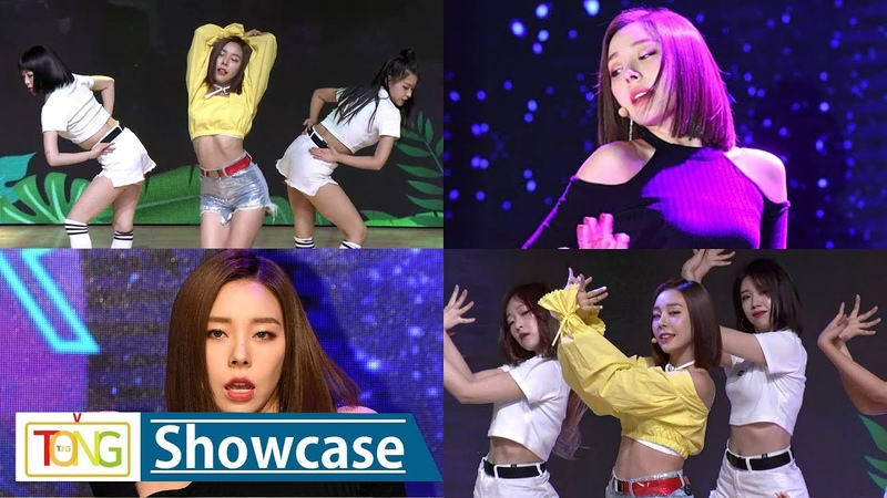 LADIES' CODE ASHLEY 'HERE WE ARE' 'ANSWER' Showcase Stage (레이디스 코드, 애슐리, 히얼 위 아, 최빛나)