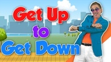Get Up to Get Down Movement Song for Kids Brain Breaks Jack Hartmann