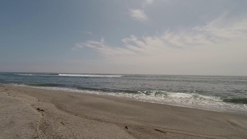Остров Итуруп, перешеек Ветровое, Тихий океан