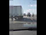 На самокате по шоссе
