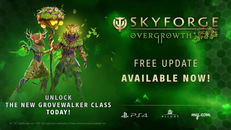 Skyforge – Overgrowth Update Release Trailer ¦ PS4