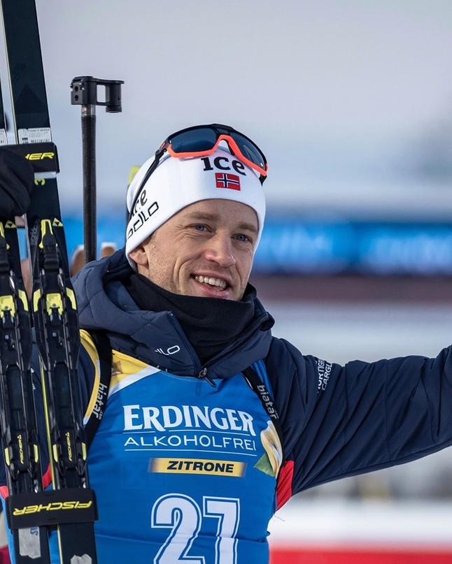 🇧🇻 Норвежский биатлонист Тарьей Бё поделился планами на будущее.