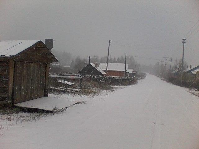 """Первый снег и первый """"снежный выезд"""" (часть первая)"""