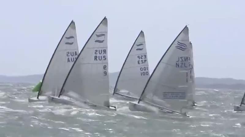 SOF Hyeres 2012 Finn Medal Race