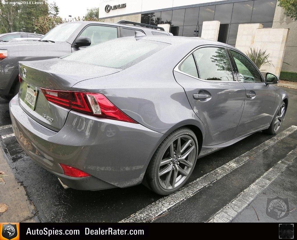 Lexus IS R17 wheels