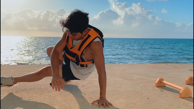 Morning Beach Workout With Centr And Chris Heria Weight Vest