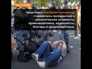 Политическое насилие как норма доклад о нападениях на активистов