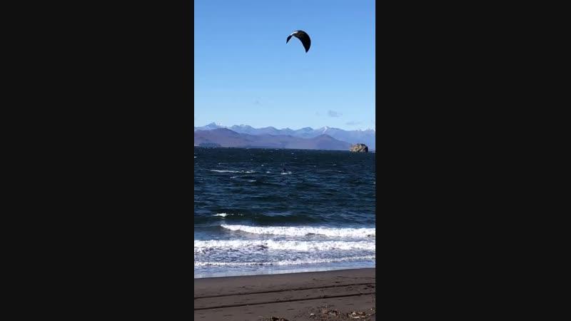 Кайф-сёрфинг на Камчатке
