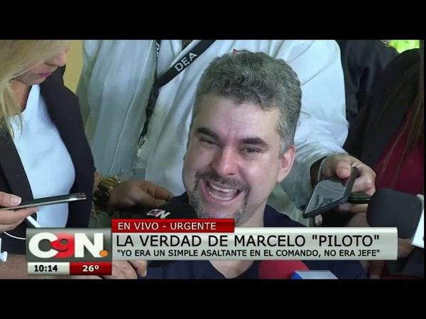 Marcelo 'Piloto' habla con la prensa