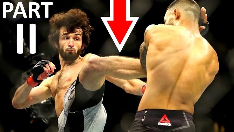 Zabit MagomedshaRiPov UFC SUPER MOVES in MMA Fights (PART 2)