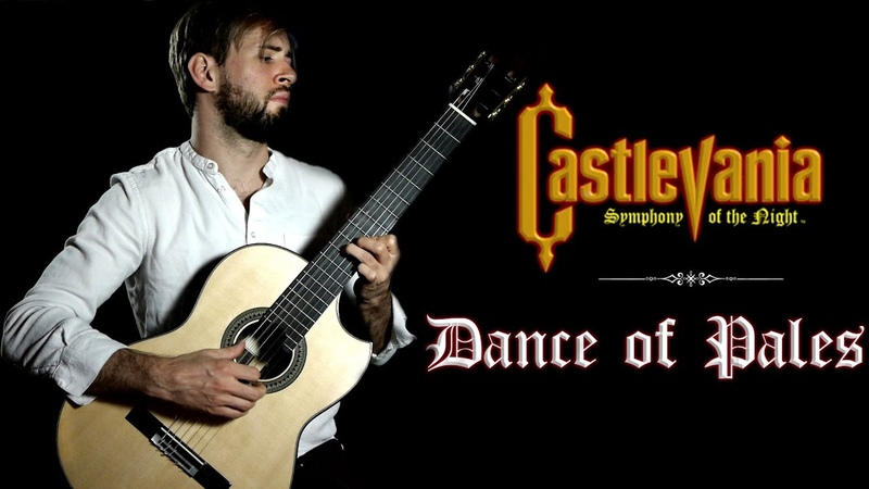 Castlevania SOTN Guitar Cover - Dance of Pales - Symphony of the Night - Sam Griffin