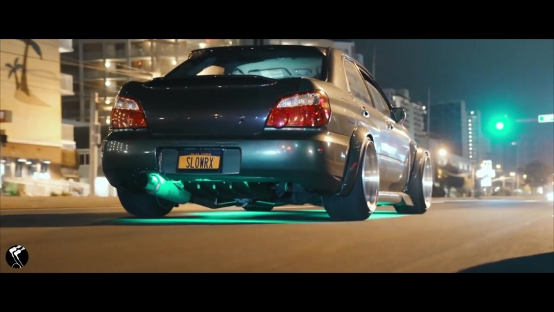 Low Subaru WRX Bugeye _u0026 Porsche 911 Turbo (Night Ride Showtime)