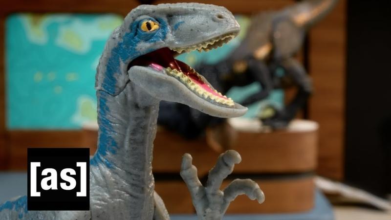 Jurassic World: Fallen Kingdom | Robot Chicken | [sponsored content]