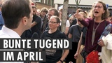 Bunt ohne Blau Anti-AfD-Demo in K