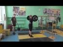 Сергей Неровный 65 кг толчок личный рекорд